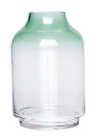 Vaas - blank glas/groen