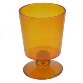 Windlicht Sanne - cognac