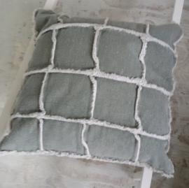 Kussen Blocks Stonewash