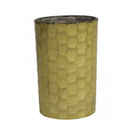 waxinelichthouder Honeycomb - groen
