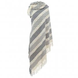 Sjaal 2 colors - grijs