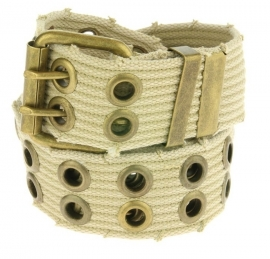 Canvas riem New Grunge - beige