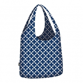 Ecozz Little Big Bag Squares - blauw