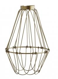 Lampenkap Wire - antiek koper