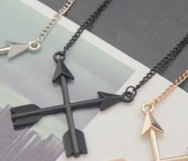 Ketting Arrows - zwart