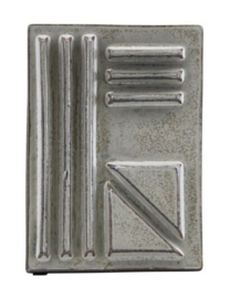 Wallframe Geometrisch - grey, M