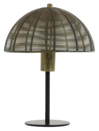 Tafellamp Klobu, brons/matzwart