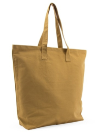 Katoenen shopper, oker