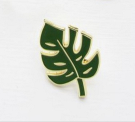 Fashion pin Monstera