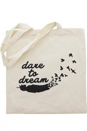 "Tote bag ""Dare to dream"""
