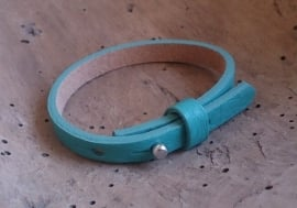 1788 Leren Cuoio armband - turquoise