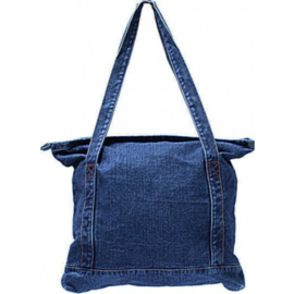 Denim tas - dark