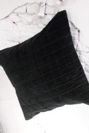 Kussenhoes Velvet - donkergroen
