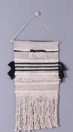 Wandkleed Gracio - ecru/zwart