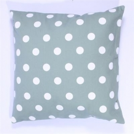 Kussenhoes Dots - mintgroen