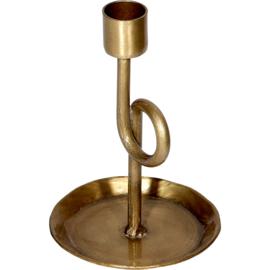 Kandelaar Loop - brons