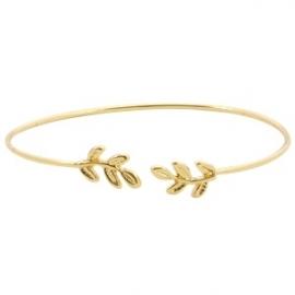 Armband Leafs - goud