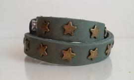 Armband Sterren, dubbel - groen