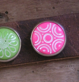 801 Clickbutton Neonpink