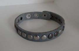 Armband Studs - middengrijs