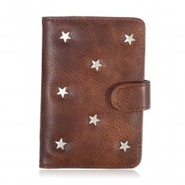 Paspoorthoes Stars - bruin