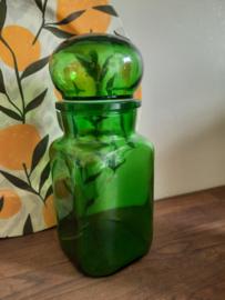 Vintage apothekerspot, groen
