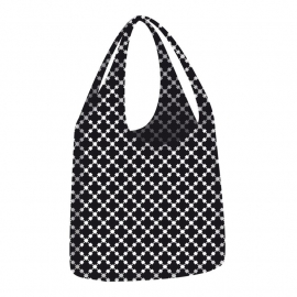 Ecozz Little Big Bag Squares - zwart