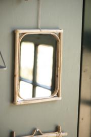 Bamboe spiegel Edge