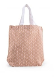 Tote bag Triangle - nude