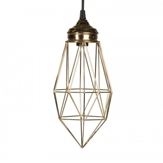 Hanglamp Arlington - goud