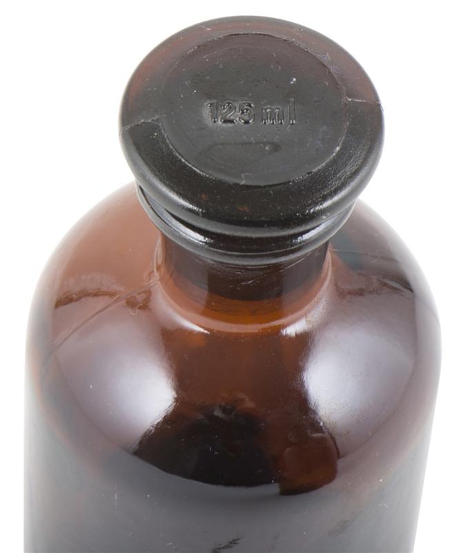 Apothekersfles - 125 ml