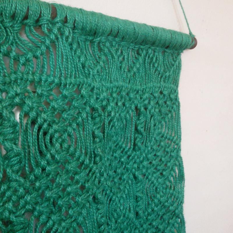 Wandkleed Sisa - groen