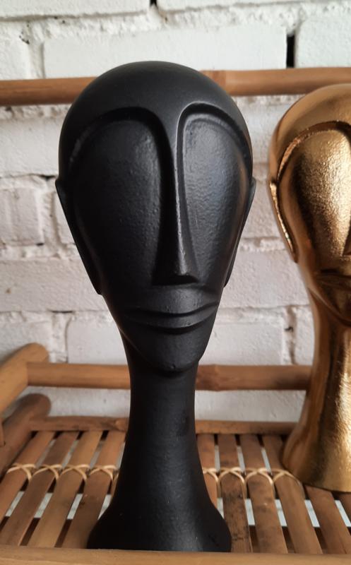 Head, zwart - XL