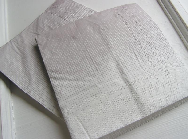 Servetten Grey gradient