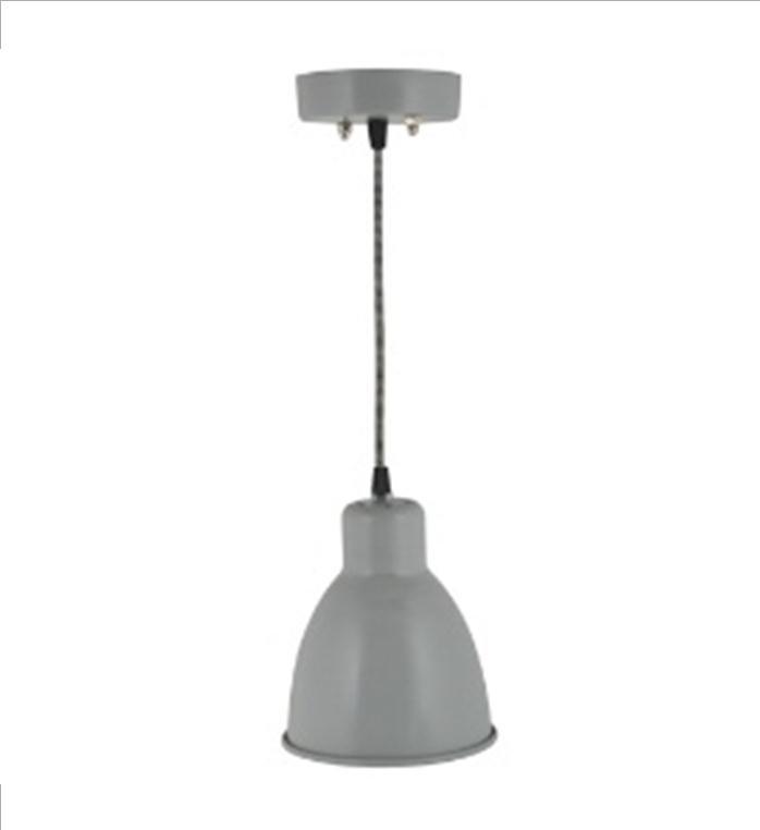 0498-2 Hanglamp metal, grijs