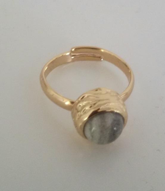 Ring Marble - goud