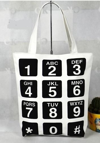 Shopper Phone - wit