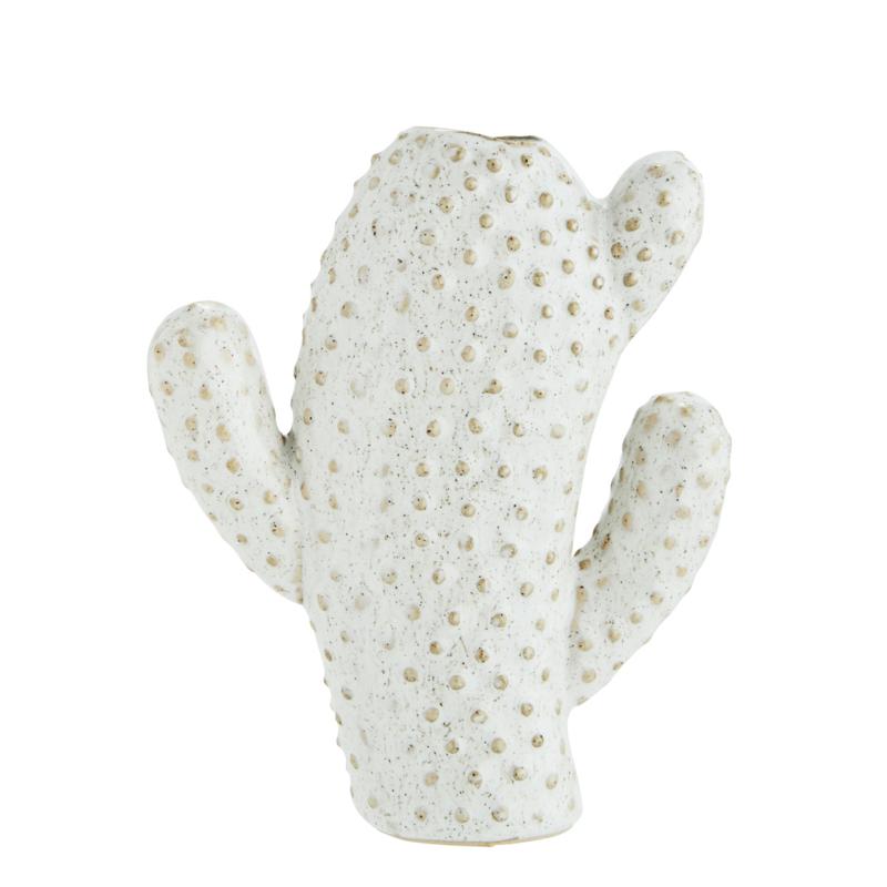 Cactus vaas, offwhite - medium