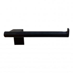 Toiletrolhouder, zwart