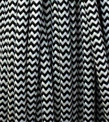 305 Textielsnoer - zigzag