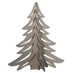 121400 Houten kerstboom