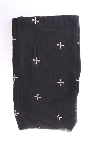 Sjaal Cross - zwart