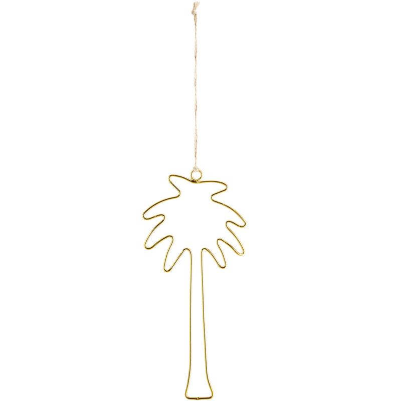 Hanger Palmboom - goud