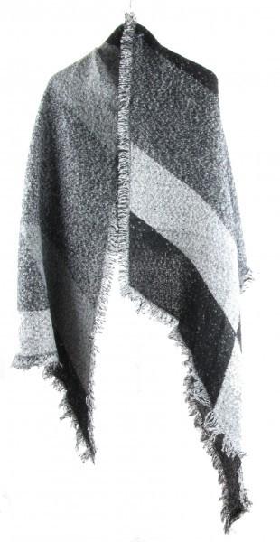 Sjaal Grijs - cashmere