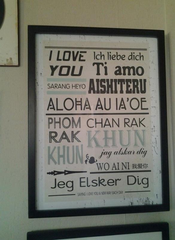 Lijst I love you