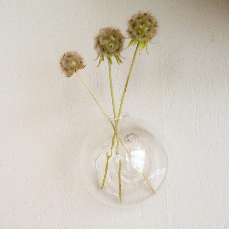 Wandvaasje - glas