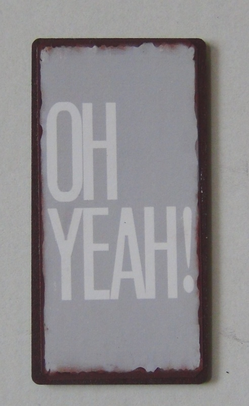 Magneet Oh yeah!