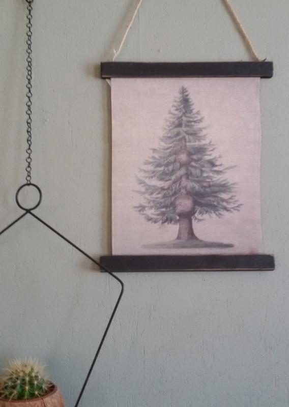 Schoolkaart Pinetree