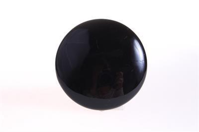 Wandknop - zwart