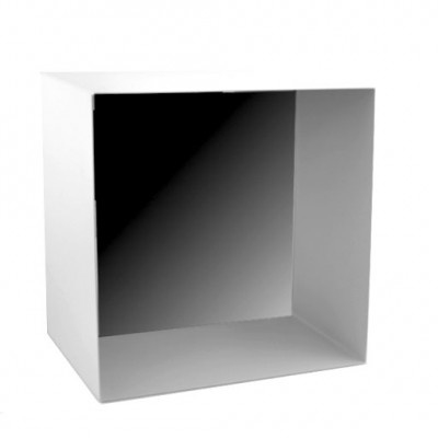 Spiegel Box - mat wit